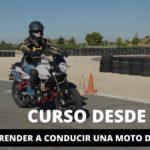 ¿Quieres aprender a conducir una moto de marchas?